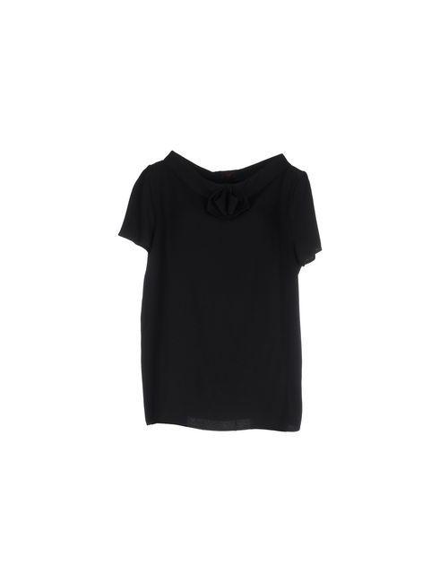 IO COUTURE | Женская Чёрная Блузка