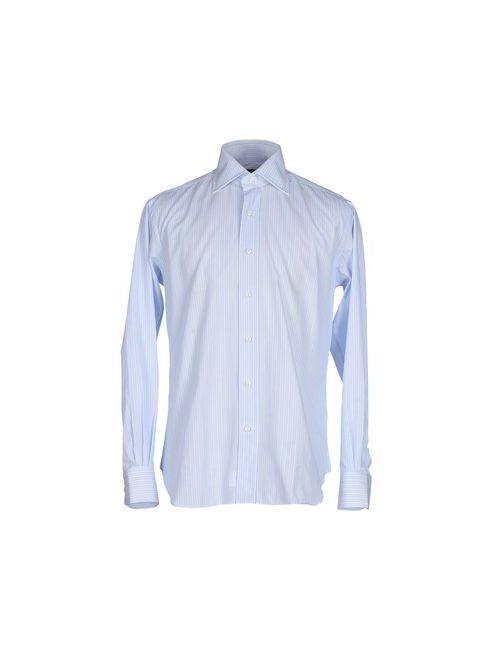 ORIAN PER GUARINO | Мужская Голуба Pубашка