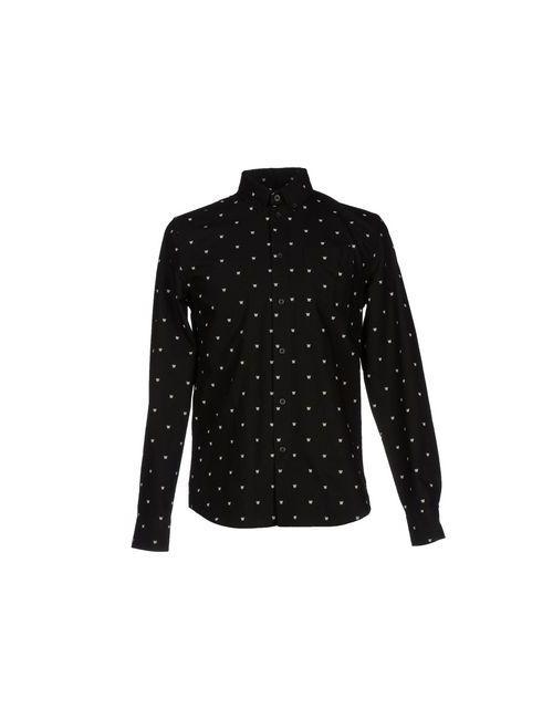 Woodwood | Мужская Черный Pубашка
