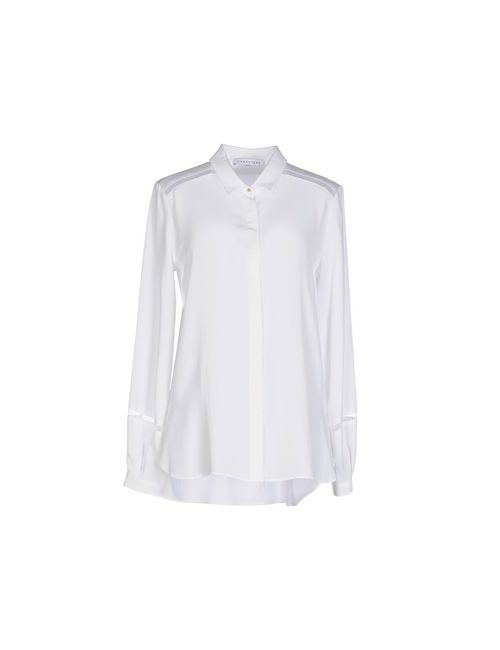 Caractere | Мужская Белая Pубашка