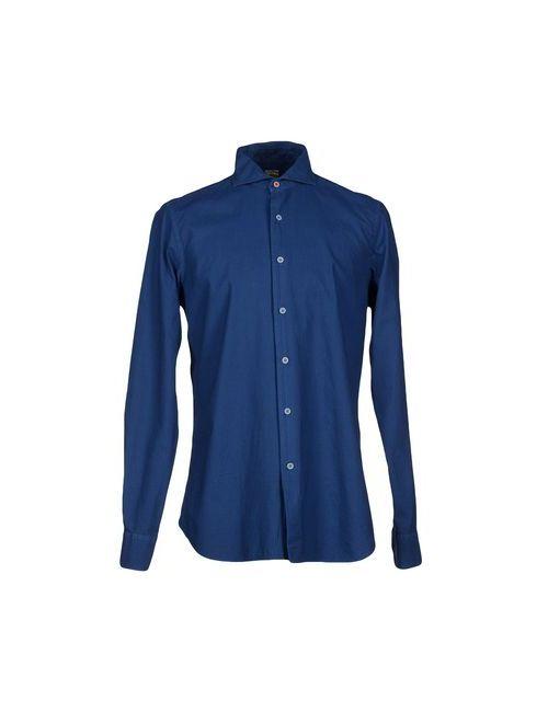 CRISTIANI | Мужская Синяя Pубашка