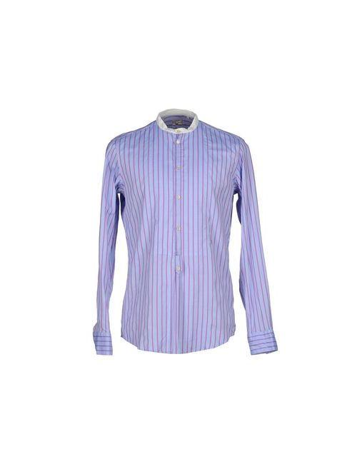 Massimo Alba | Мужская Фиолетовая Pубашка
