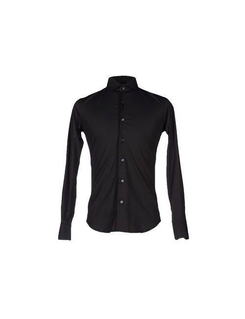 Xacus | Мужская Чёрная Pубашка