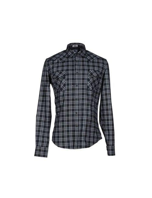 Macchia J | Мужская Чёрная Pубашка