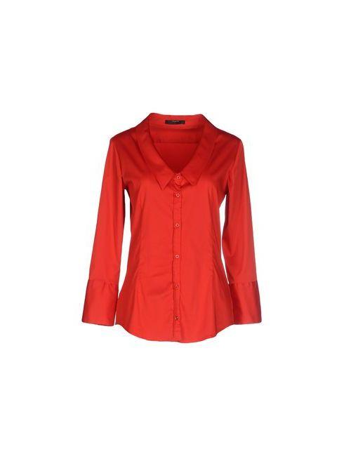 Aglini | Мужская Красная Pубашка