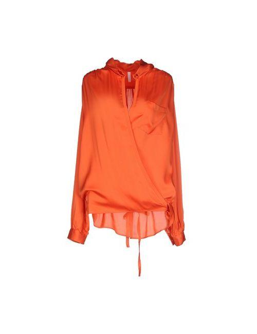 Aglini | Женская Оранжевая Блузка