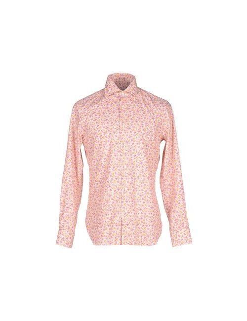 MATTABISCH   Мужская Розовая Pубашка