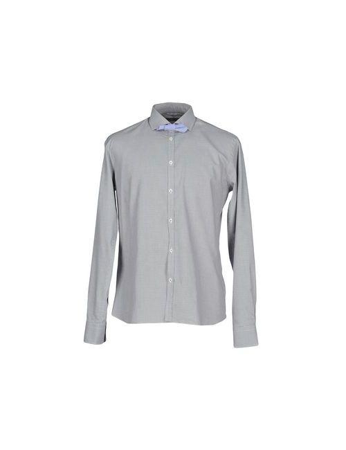 Aglini | Мужская Серая Pубашка