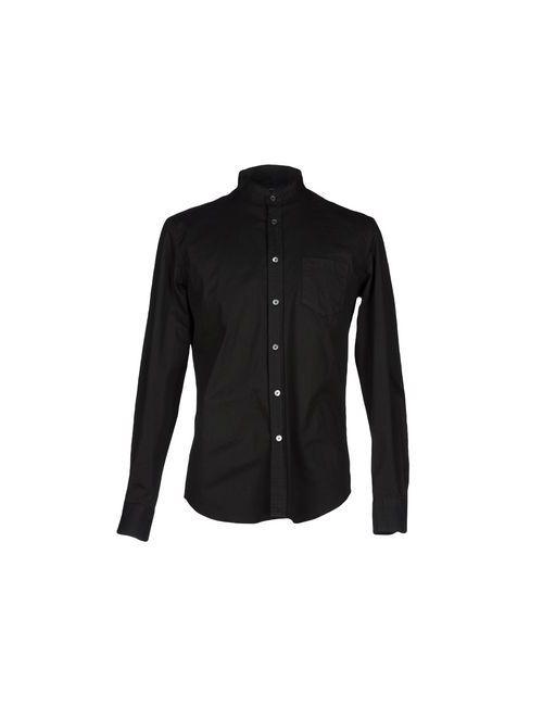 Department 5 | Мужская Черный Pубашка
