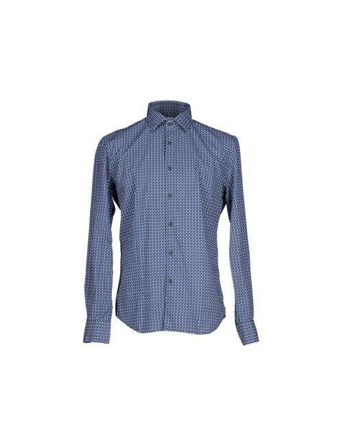 Xacus | Мужская Синяя Pубашка