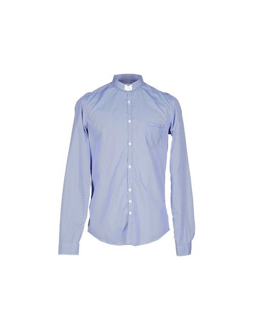 Aglini | Мужская Синяя Pубашка