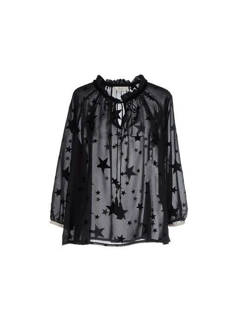 Suoli | Женская Чёрная Блузка