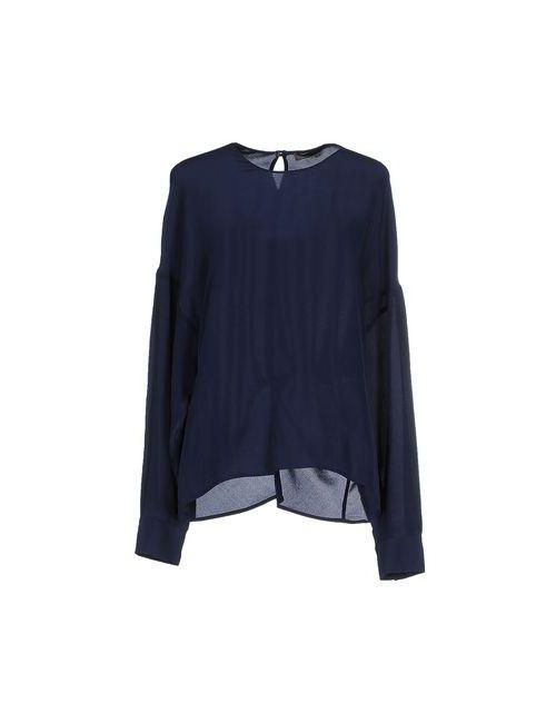 Space Style Concept   Женская Синяя Блузка