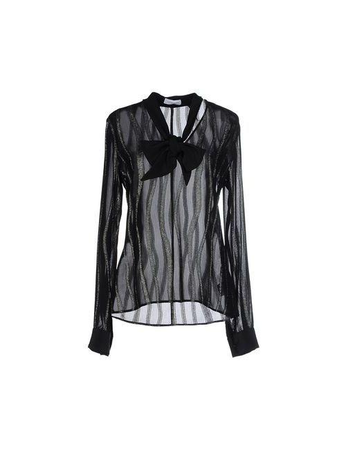 Costume National | Женская Чёрная Блузка
