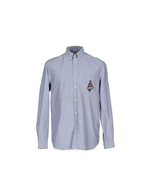 Love Moschino | Мужская Синяя Pубашка