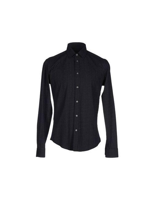 Brian Dales | Мужская Чёрная Pубашка