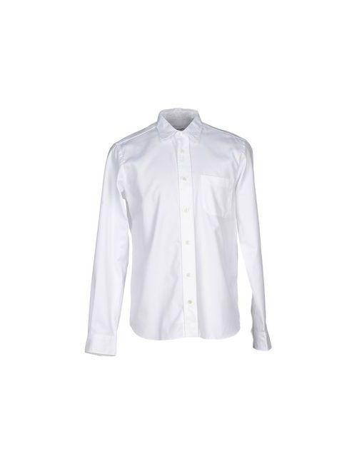 Mauro Grifoni   Мужская Белая Pубашка
