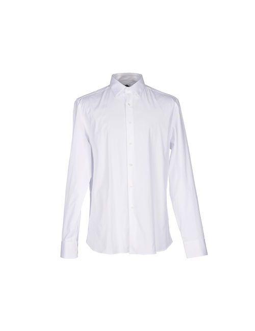Bagutta   Мужская Белая Pубашка