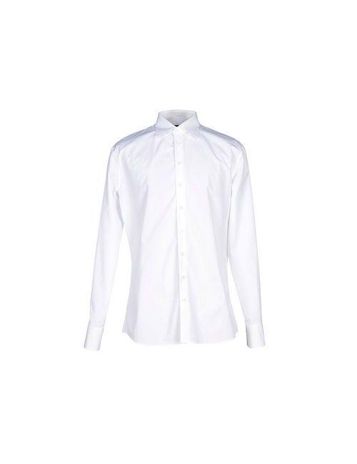 Dsquared2 | Мужская Белая Pубашка