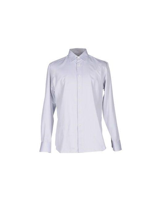 Canali   Мужская Серая Pубашка