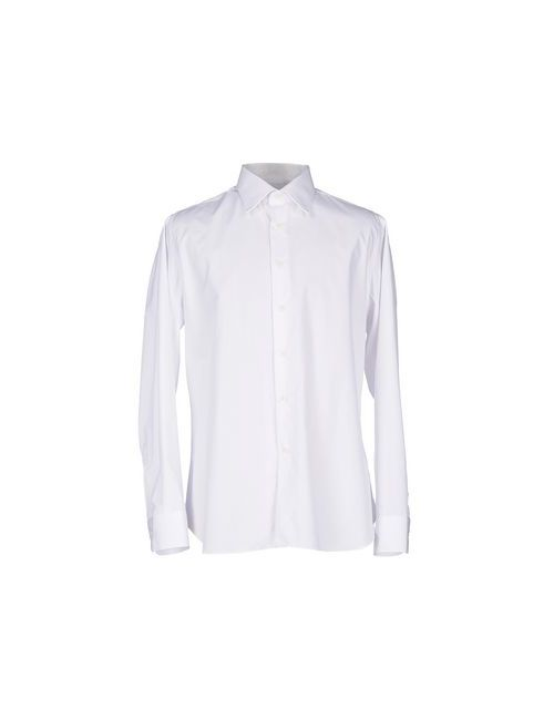 Bagutta | Мужская Белая Pубашка