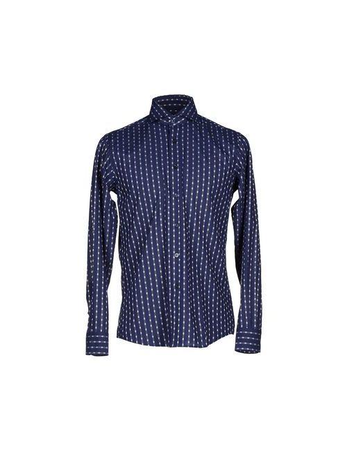 Mirto | Мужская Синяя Pубашка