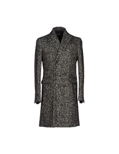 Dsquared2 | Мужское Черный Пальто