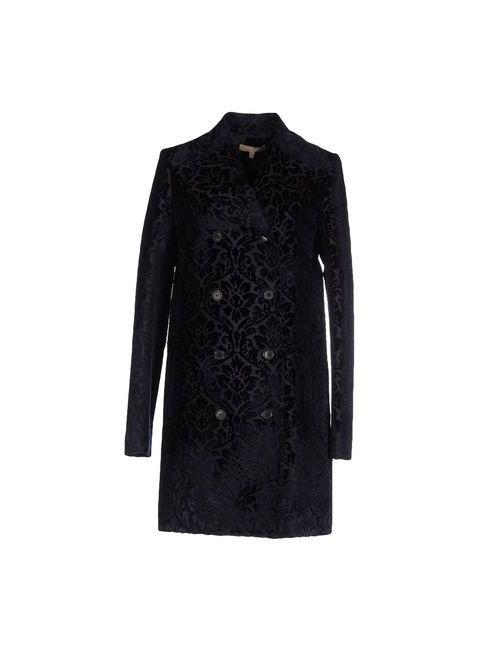 Michael Kors | Женское Синее Легкое Пальто