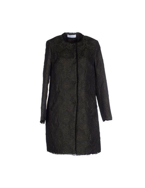 Kaos | Женское Зелёное Легкое Пальто