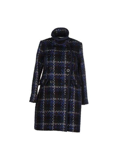 Sacai Luck | Женское Синее Легкое Пальто