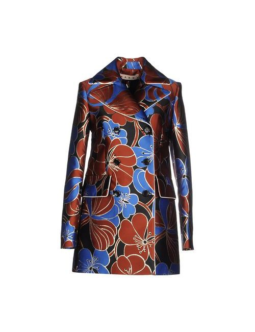Marni | Женское Синее Легкое Пальто