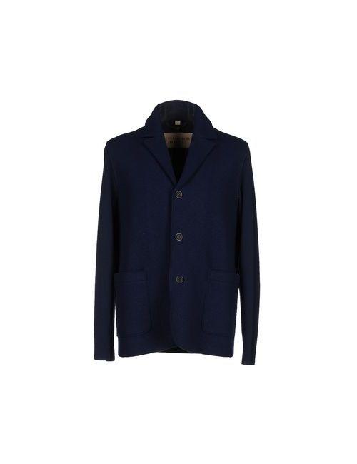 Burberry Brit | Мужское Синее Пальто