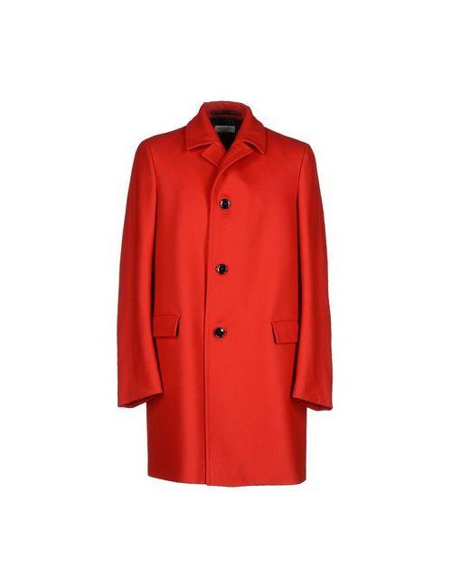 Dries Van Noten | Мужское Красное Пальто
