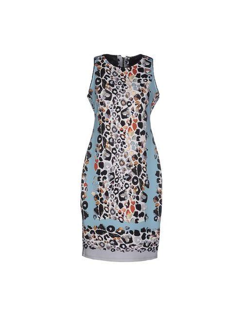 Hale Bob | Женское Бирюзовое Короткое Платье