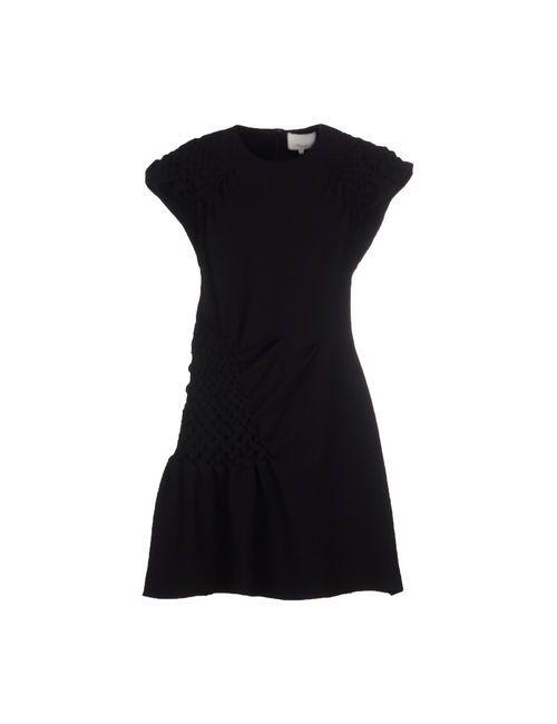 3.1 Phillip Lim | Женское Черный Короткое Платье