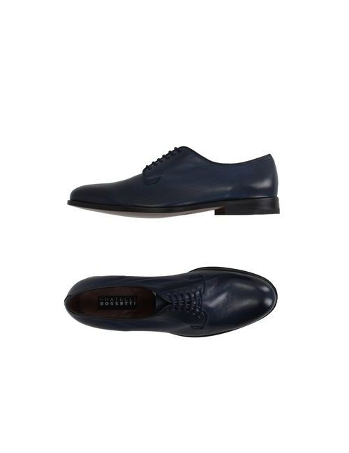 Fratelli Rossetti | Мужская Синяя Обувь На Шнурках
