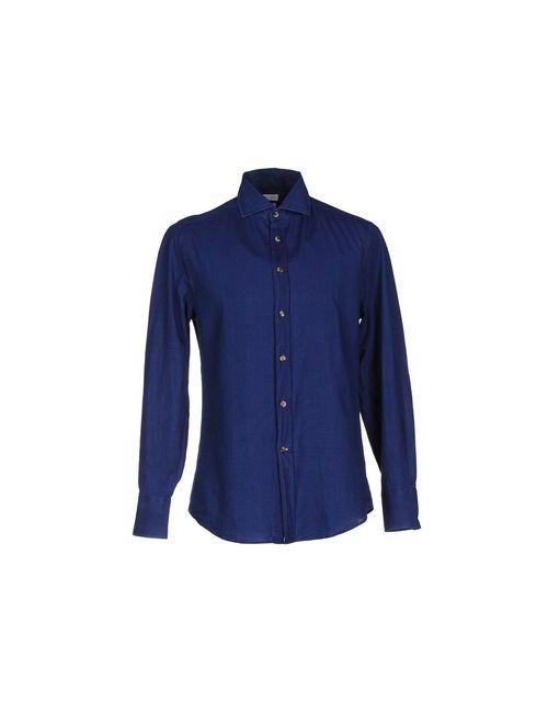 Brunello Cucinelli | Женская Синяя Pубашка