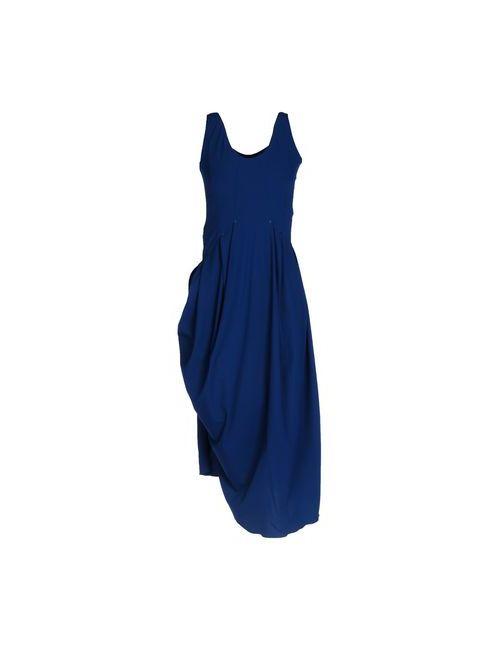 High Tech | Женское Синее Платье До Колена