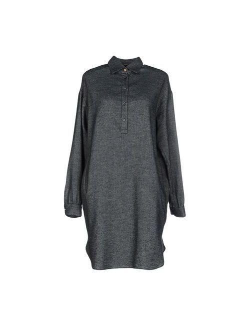 Aglini | Женское Зелёное Короткое Платье