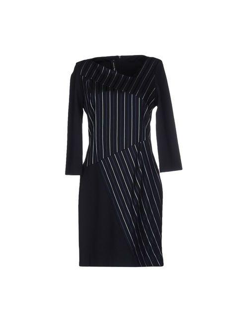 Pianurastudio | Женское Синее Короткое Платье