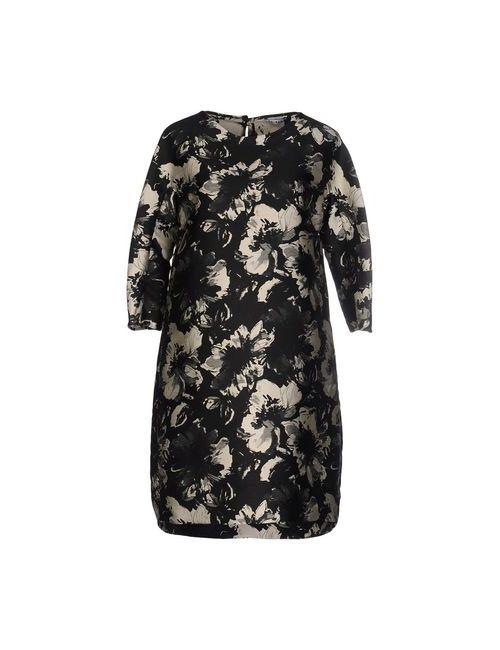 Caliban | Женское Чёрное Короткое Платье