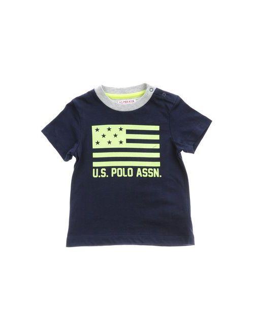 U.S. Polo Assn. | Женская Синяя Футболка