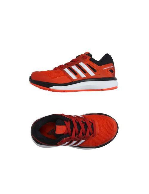 Adidas   Мужские Красные Низкие Кеды И Кроссовки