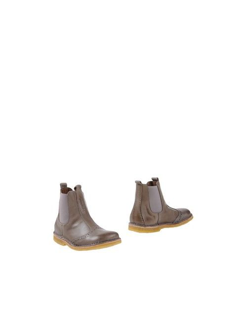 Bisgaard | Мужские Серые Полусапоги И Высокие Ботинки