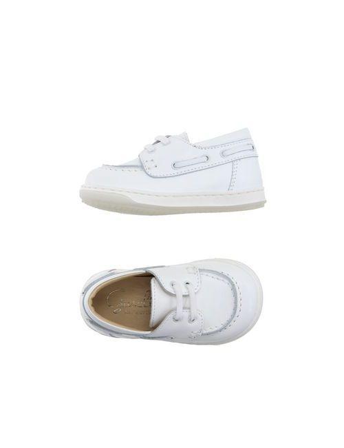 Gusella | Мужская Белая Обувь На Шнурках