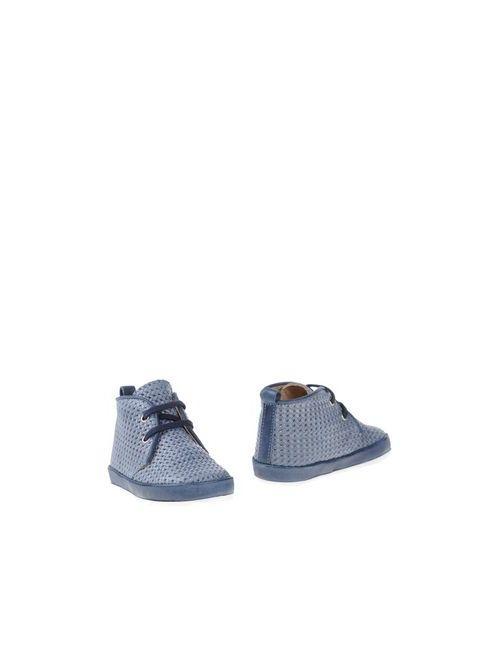 Gusella | Мужские Синие Полусапоги И Высокие Ботинки