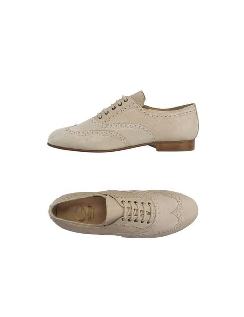 Gallucci | Мужская Бежевая Обувь На Шнурках