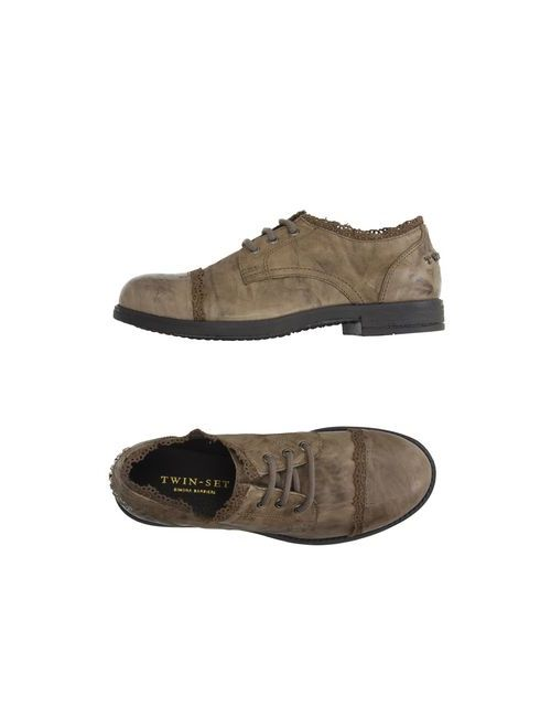 Twin-Set Simona Barbieri | Мужская Коричневая Обувь На Шнурках