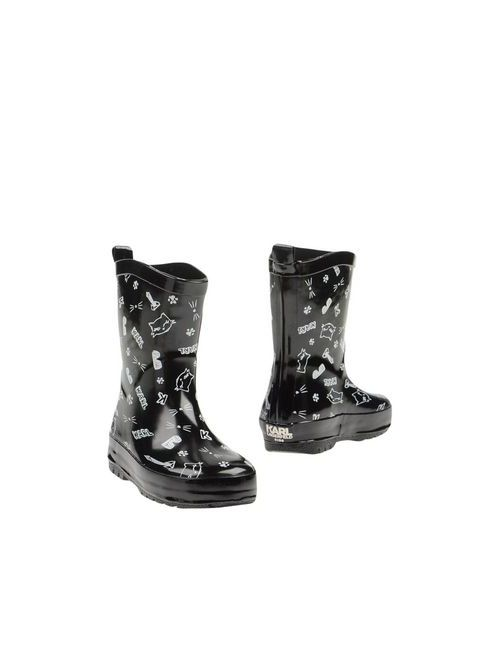 Karl Lagerfeld | Мужские Чёрные Полусапоги И Высокие Ботинки