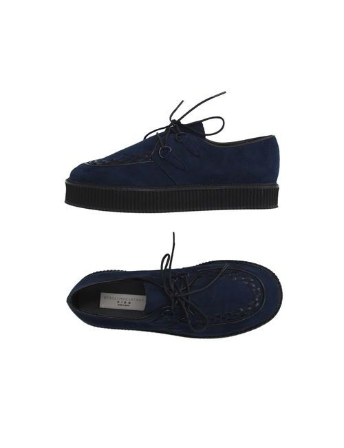 Stella Mccartney   Мужская Синяя Обувь На Шнурках